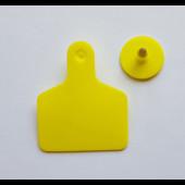 Бирка ушная для крс двойная 100*75мм (без номера)