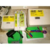 Электропастух AGRI 500 12/220V 0,6Дж 5км генератор для коров и других