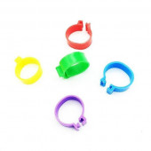 Меточное кольцо 8 мм б/номера