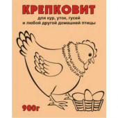 Крепковит для кур, порошок 0.9кг