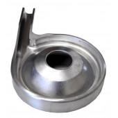 Применик сливок (сливкоотвод) метал к сепаратору Мотор Сич