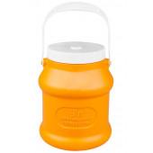 Бидон 3л для пищевых продуктов оранжевый