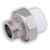 Муфта для врезки в емкость с водой н/р d25*1/2