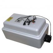 Инкубатор Несушка 36 220/12В арт45г, авто переворот для яиц, 1 решётка, цифр.терморег, изм.влажности