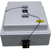 Инкубатор Несушка 104 220В арт60г, авто переворот для яиц, 1 решётка, цифр.терморег, изм.влажности