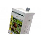 Электропастух AGRI 4500 12V/220V 4,8Дж 50км генератор